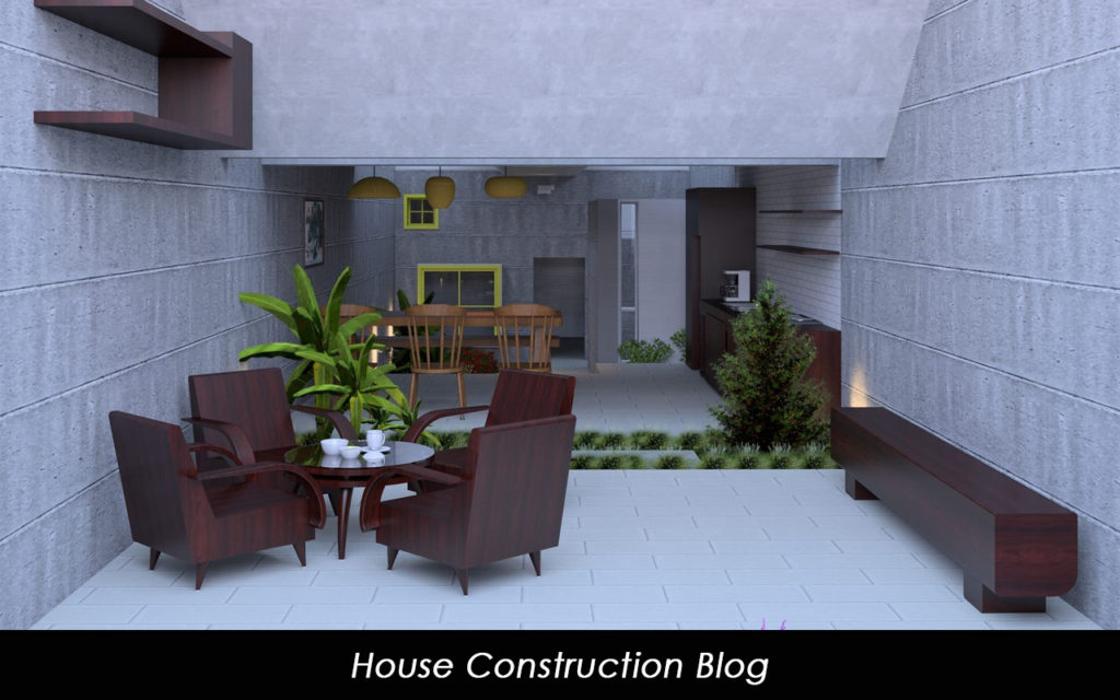 Architectural visualization image