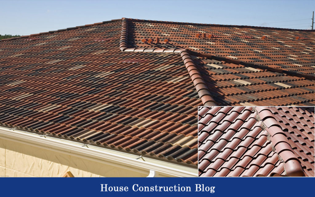 Concrete and clay tiles