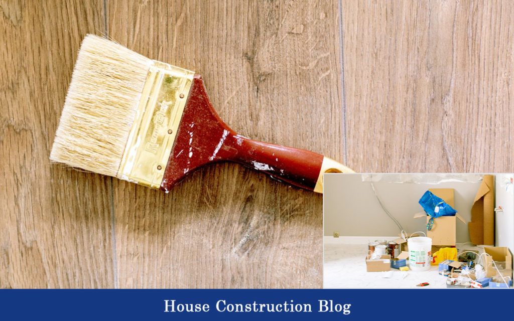 Paint brush for Painted brick house