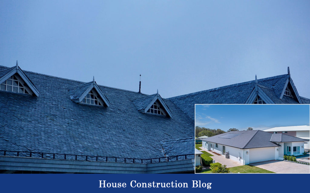 Roof design in the house