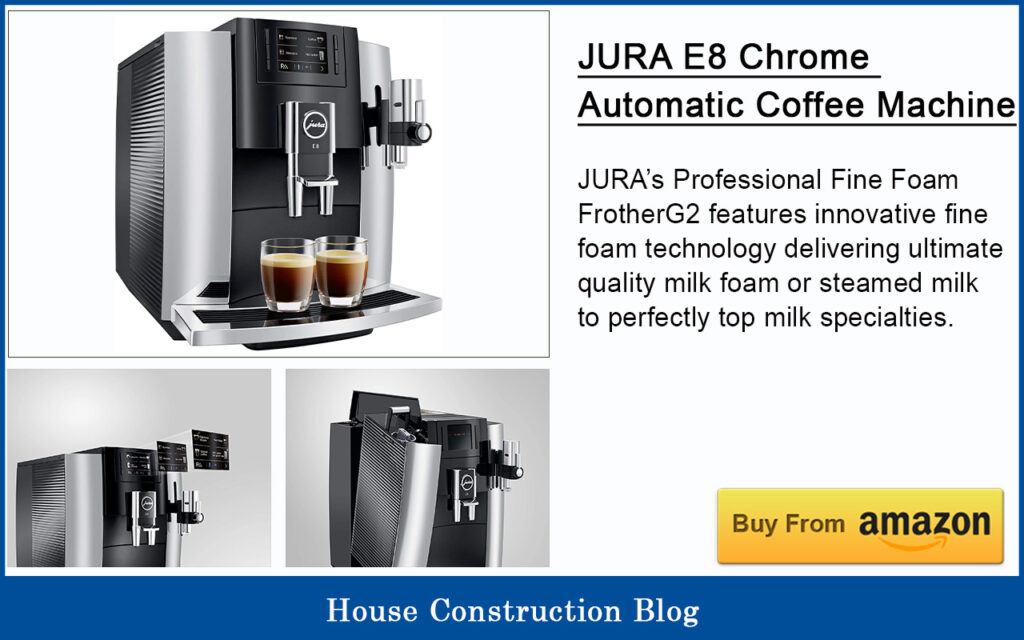 JURA | E8 Chrome Automatic Coffee Machine