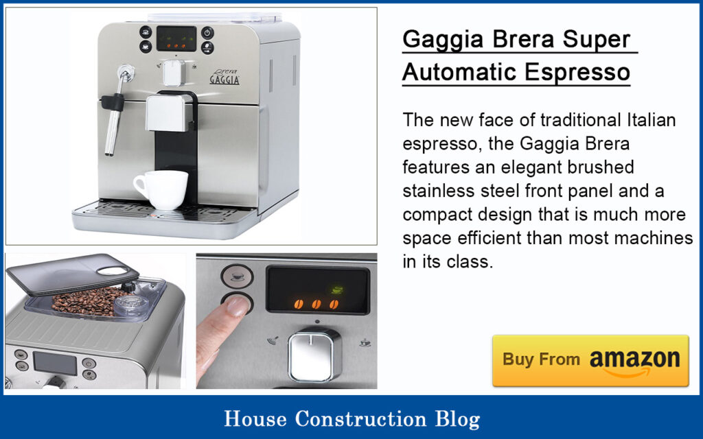 Best automatic espresso machine - Gaggia Brera Super