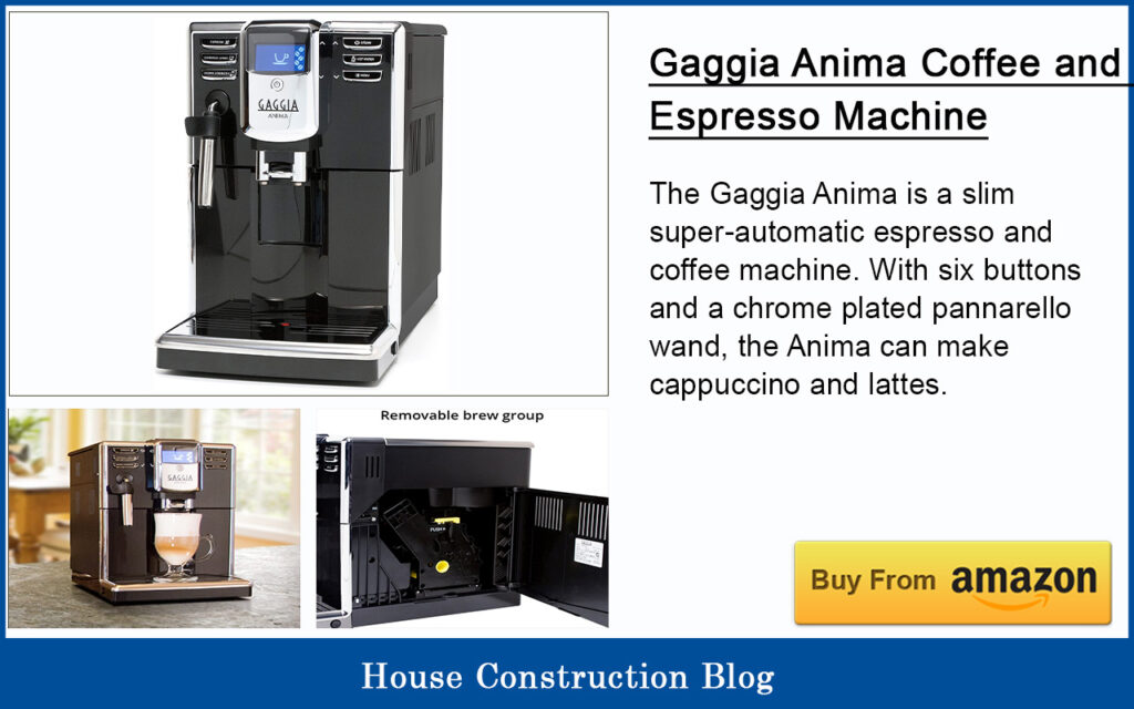 Gaggia Anima Coffee and Espresso Machine