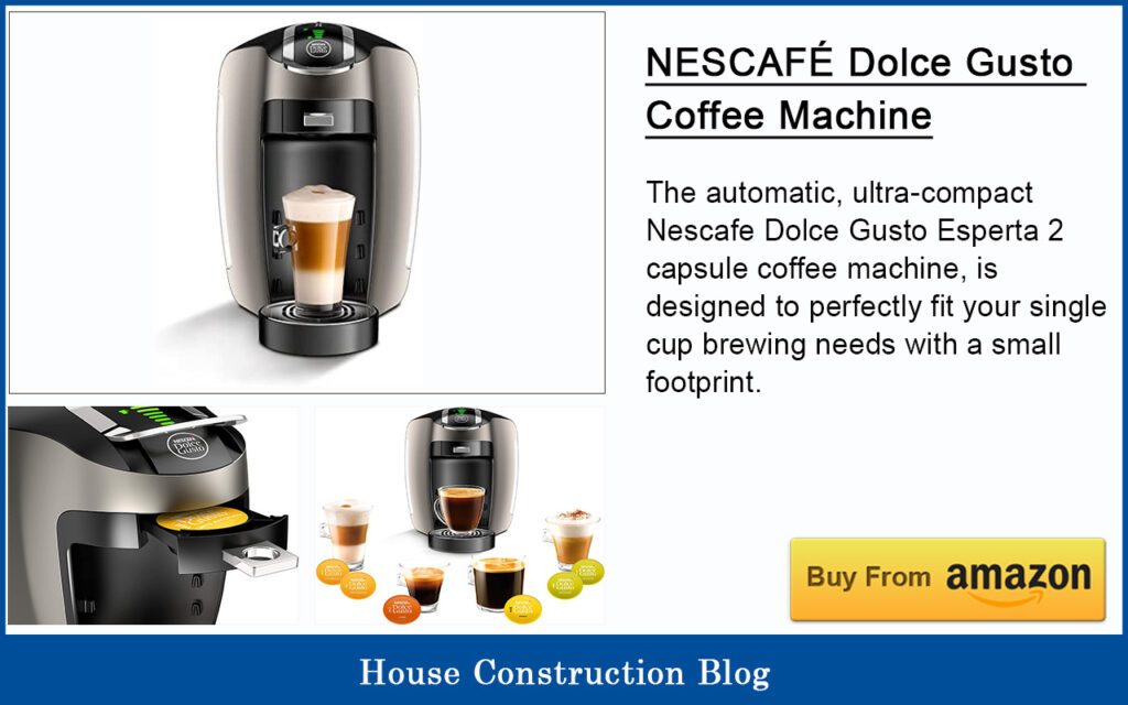 Best automatic espresso machine - NESCAFE Dolce Gusto Coffee Machine