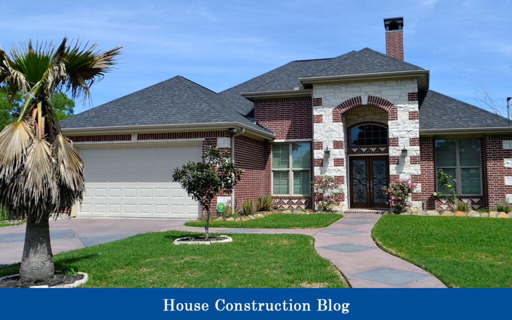 Cost to build a white brick house