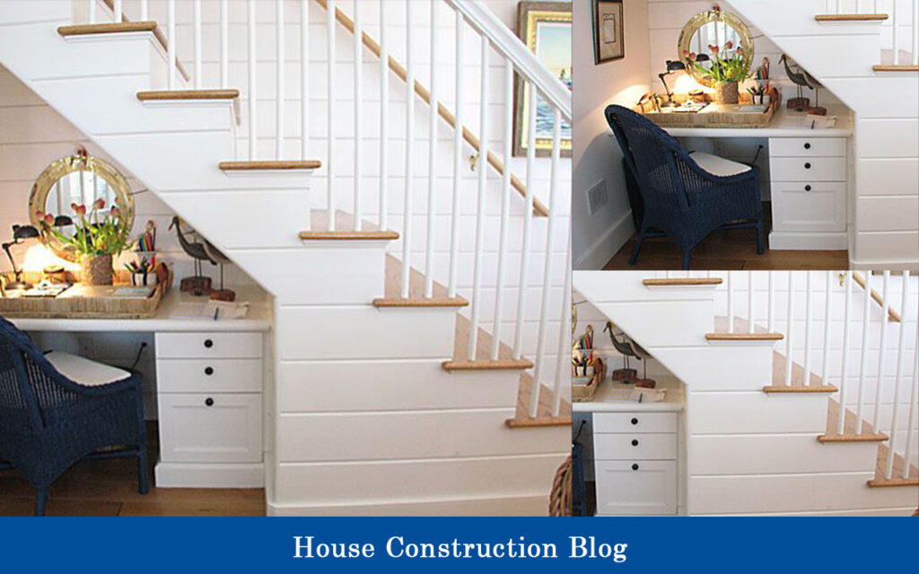Short staircase design for small spaces