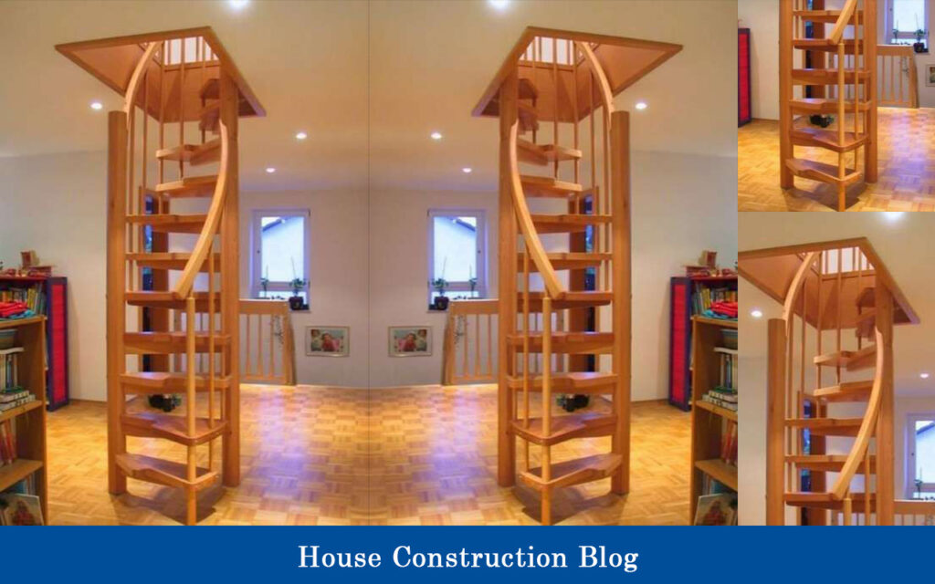 Ladder-type staircase design