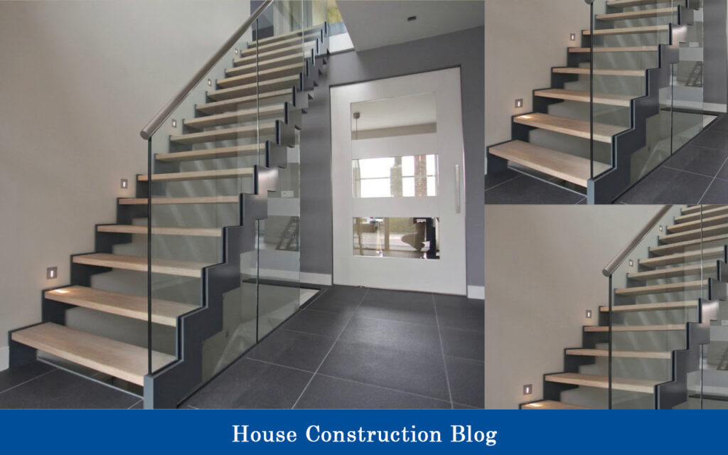 Luxury mode staircase design for small spaces